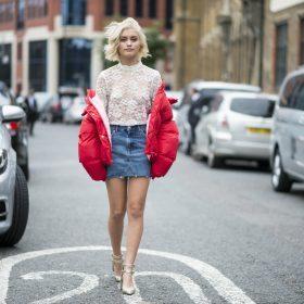 3 façons de porter la jupe en jean