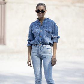 Chemises en jean femme