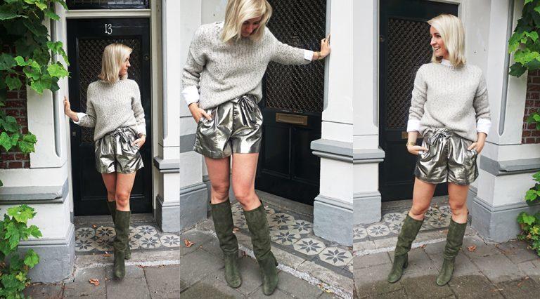 Mon obsession pour cet automne - une paire bottes en daim de chez Luisaviaroma
