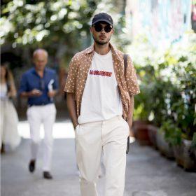 Chemises à manches courtes homme