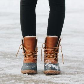 Chaussures d'hiver pour femme