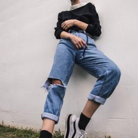 Jeans Boyfriend Femme