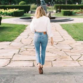 Jeans slim femme