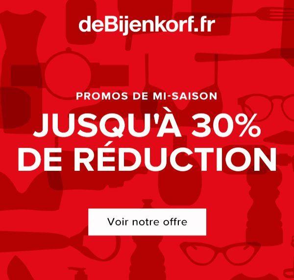 deBijenkorf FR - October Promotion - Double SRB