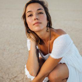 Une robe blanche pour cet été
