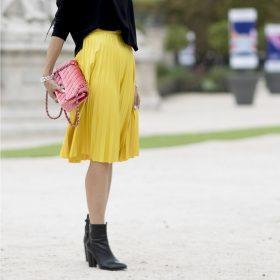 Jupes plissées femme