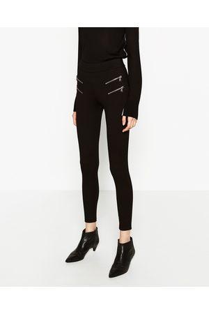 pantalon legging femme zara
