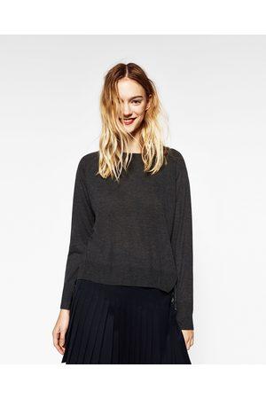Femme Pulls - Zara PULL FENDU SUR LES CÔTÉS - Disponible en d autres coloris 2d45bc6bce3e