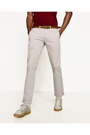 Homme Chinos - Zara PANTALON CHINO - Disponible en d'autres coloris