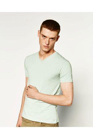 Homme T-shirts - Zara T-SHIRT BASIQUE SUPER SLIM