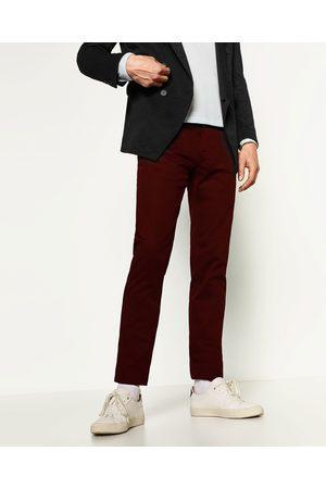 acheter pantalons slim skinny homme zara en ligne comparer acheter. Black Bedroom Furniture Sets. Home Design Ideas