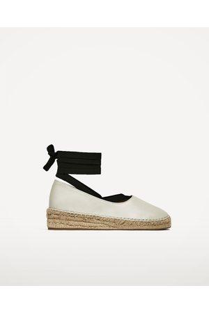 1467500ea99d9 Espadrilles lacets Chaussures femme de couleur beige - comparez et achetez