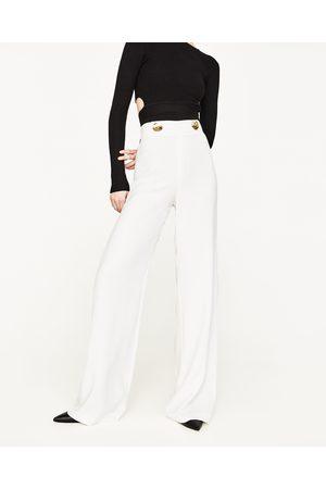 Zara Et Achetez Pantalons Comparez Larges Femme Fluide 8vmNOn0w