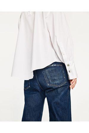 Femme Chemises - Zara BLOUSE À COL MONTANT