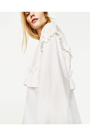 Femme Chemises - Zara TOP ASSORTI AVEC VOLANT