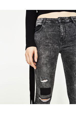 Femme Skinny - Zara JEAN POWER STRETCH SKINNY TAILLE BASSE