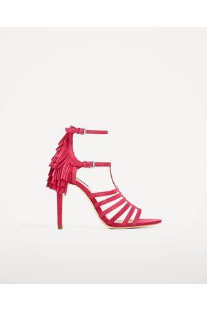 e3dd931995fc14 Chaussures femme franges Zara - comparez et achetez