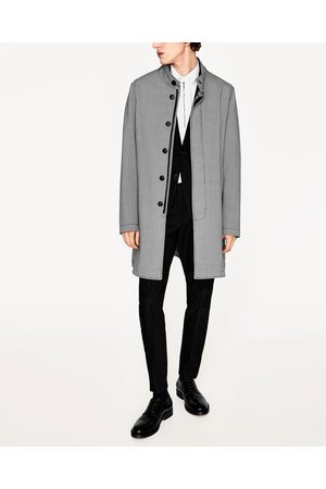 Homme Trench-coats - Zara TRENCH PIED DE POULE