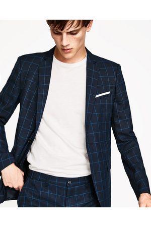 Acheter blazers homme zara en ligne for Veste carreaux homme zara