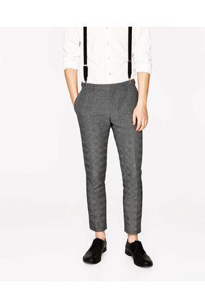 Homme Pantalons - Zara PANTALON DE COSTUME À CARREAUX