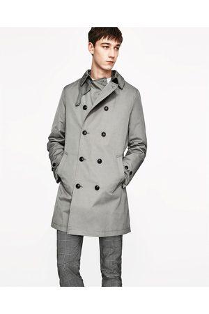 Zara homme manteau trench