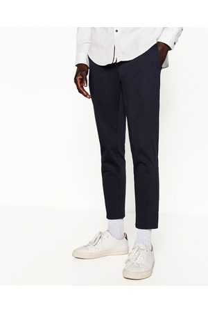 Homme CHINO d'autres en Zara Chinos coloris PANTALON CROPPED Disponible 1r14qxT
