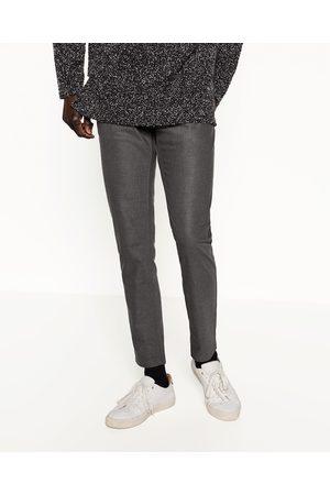 Homme Pantalons classiques - Zara PANTALON COUPE CAROTTE - Disponible en d'autres coloris