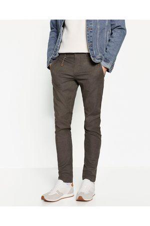 Homme Pantalons - Zara PANTALON STRUCTURÉ - Disponible en d'autres coloris