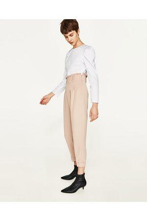 pantalons jeans femme taille haute zara comparez et achetez. Black Bedroom Furniture Sets. Home Design Ideas