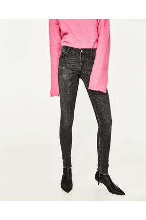 Femme Jeggings - Zara JEGGING BODY CURVE TAILLE BASSE - Disponible en d'autres coloris