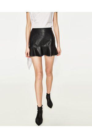 Femme Mini-jupes - Zara MINI JUPE CLOUTÉE