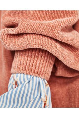 Femme Pulls - Zara PULL EN CHENILLE - Disponible en d'autres coloris