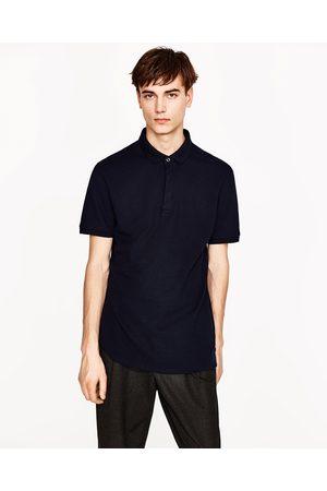 Homme Polos - Zara POLO STRUCTURÉ EN PIQUÉ - Disponible en d'autres coloris