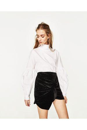 Femme Mini-jupes - Zara MINI JUPE EN VELOURS