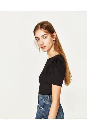 Femme T-shirts - Zara T-SHIRT À MANCHES BALLON