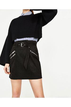 Femme Mini-jupes - Zara MINI JUPE À ZIPS