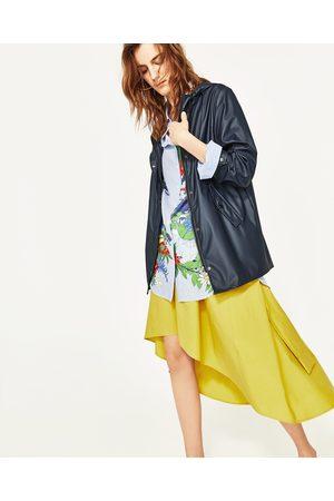 Femme Imperméables - Zara CIRÉ À CAPUCHE - Disponible en d'autres coloris