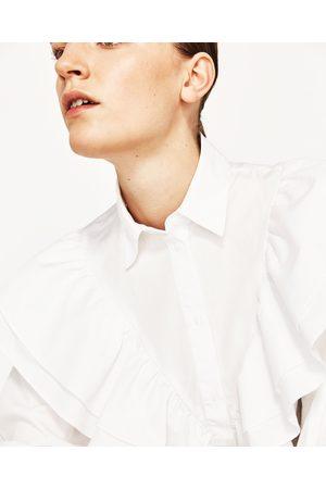 Femme Chemises - Zara CHEMISE À VOLANTS