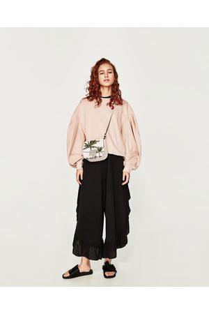 Femme Sweatshirts - Zara SWEAT À MANCHES BOUFFANTES