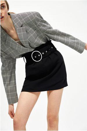 Femme Mini-jupes - Zara JUPE AVEC MINI BOUCLE