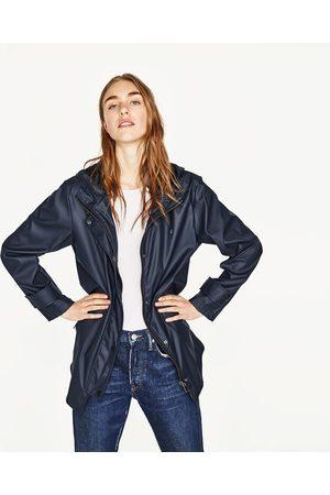 Femme Manteaux - Zara CIRÉ À CAPUCHE - Disponible en d'autres coloris