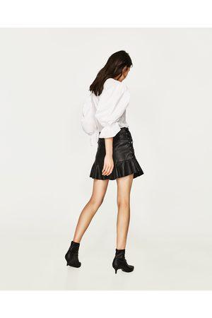 Femme Mini-jupes - Zara MINI JUPE AVEC LACETS
