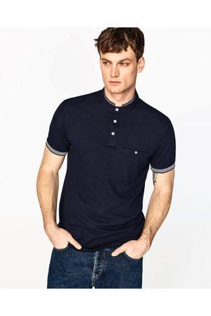 Homme Polos - Zara POLO À COL MAO - Disponible en d'autres coloris