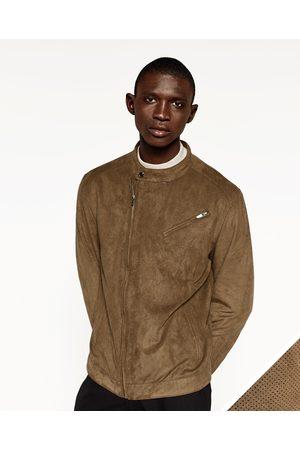 Achetez Vestes amp; Comparez Et Suedine Homme Manteaux Zara A0xqZwB