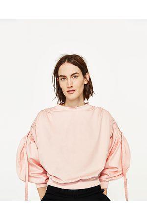 Femme Business - Zara TOP EN POPELINE MÉLANGÉE