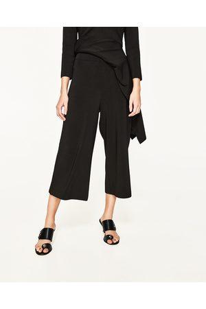 Femme Pantalons larges - Zara PANTALON LARGE TAILLE HAUTE