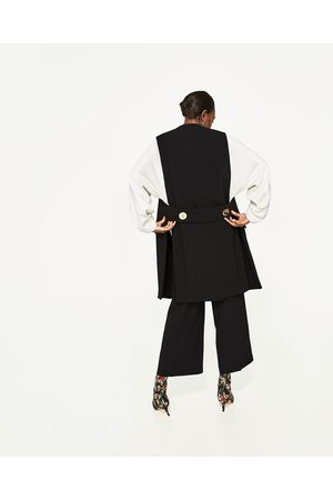 Femme Gilets - Zara GILET LONG OUVERT