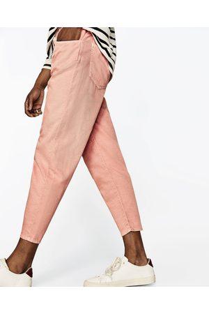 pantalon rose homme zara