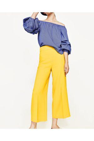 pantalons femme taille haute zara comparez et achetez. Black Bedroom Furniture Sets. Home Design Ideas