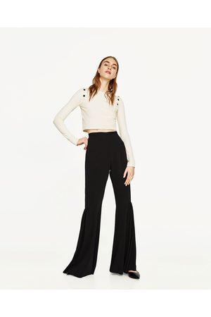 Femme Pantalons larges - Zara PANTALON FLUIDE FLARE